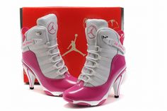 Nike Air Jordan 6Ring Heels White/Pink