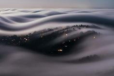 San Francisco's Iconic Fog Sure Looks Stunning From Above   Credit: Lorenzo Montezemolo   From Wired.com
