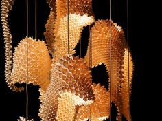 green interior design,Green Lighting,origami,origami lamps,Kenneth Cobonpue, dragon tail lamp, lamps,recycled basket lamps,