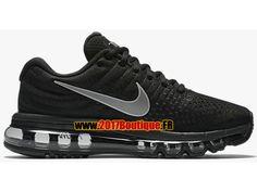 Nike Air Max 2017 GS Chaussures Nike Running Pas Cher Pour Femme noir 849560-001