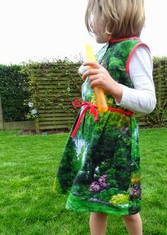 Made by MaZella guirlande jurk