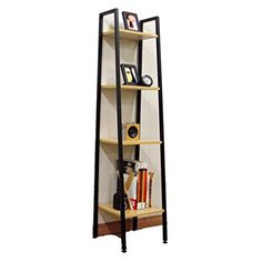 Bookshelf Bookcase European Steel Wood Shelf Bedroom Storage Shelves Living  Room Storage Rack Landing Display Stands