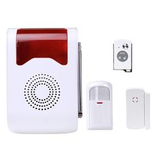 YA-302 wireless sound and light alarm welcome doorbell voice navigation site wireless sound and light alarm #Affiliate