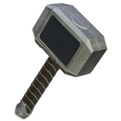 Marvel Thor The Dark World Lightning Strike Hammer. Motion-activated Lightning Strike Hammer lets you take on the identity of your favorite superhero. Electronic hammer looks like the mighty hammer of Thor. Crackling lightning lights. Thunder-crash sounds. Includes hammer.