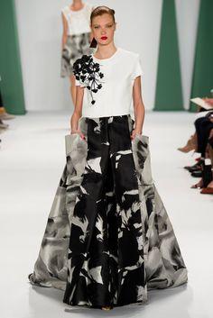 Carolina Herrera Spring 2015 Ready-to-Wear Fashion Show - Anastasia Ivanova (=)