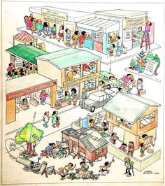 082910 - The Urban Tracker (On Larry Alcala's Legacy) : A Slice of Tribute Newspaper Cartoons, Filipiniana, Slice Of Life, Pinoy, Cartoon Styles, Larry, Urban, Artwork, Idioms