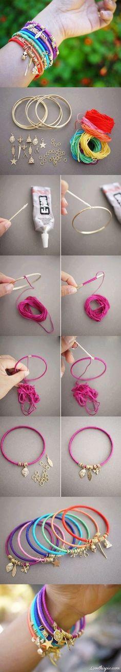 DIY Easy Summer Bracelet