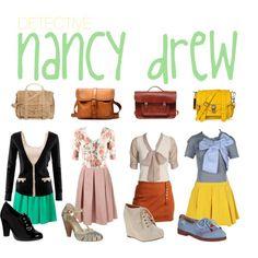 <3 Nancy Drew! Can I be her?!?