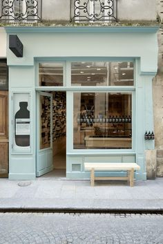 With commissions ranging from Saint Laurent to Aesop (like the rue Tiquettone store, pictured), Parisian design studio Ciguë has established itself as a go-to for fresh, stylish interiors and architecture. Vogue Living writer Marie Le Fort caught up with Aesop Store, Café Bar, Paris Shopping, Paris Store, Vogue Living, The Doors, Shop Fronts, Shop Around, Signage Design