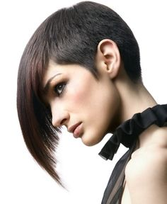 2012 Fall and 2013 Winter Haircut Trends. This haircut reminds me of Vidal Sassoon.   It's fabulous! :)