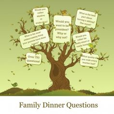Over 750 Family Dinner Questions