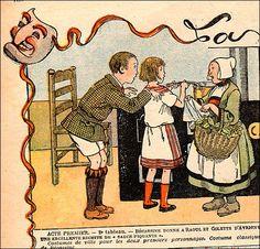 The 1920s-la semaine de Suzette 1922 by april-mo, via Flickr