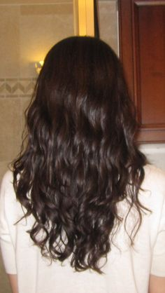 Digital Perm - creates natural looking waves for straight hair