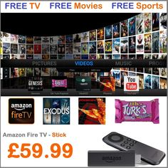 Amazon Fire TV Stick with Kodi 16.1 (XBMC) Firestick - FULLY LOADED