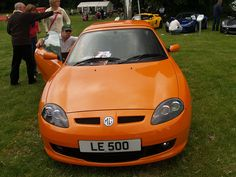 MG Orange Sports Car | Flickr - Photo Sharing!