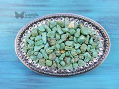 Turquoise Chip Belt Buckle, Holeless Chip Buckle, Green Stone Belt Buckle, Swarovski Crystal Buckle, Rustic Belt Buckle, Boho Chic, tammydee