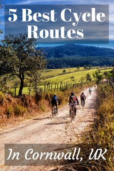 5 Best Cycle Routes in Cornwall, whilst you are on holiday in Cornwall what better way to see the countryside than a bike ride. Camel Valley, Worlds Of Fun, Around The Worlds, Best Cycle, Camping Cornwall, Holidays In Cornwall, Cycling Holiday, Bicycle Maintenance, Touring