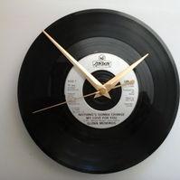 "Glen medeiros- nothing's gonna change my love for you   7"" vinyl record clock"
