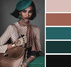 Colour Combinations Fashion, Color Combinations For Clothes, Beautiful Color Combinations, Fashion Colours, Colorful Fashion, Colour Pallete, Colour Schemes, Color Trends, Color Combos