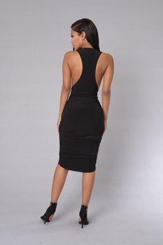 Lina Dress - Black
