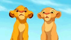 Lion King... Or rather how I feel about school...