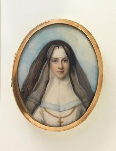 Box with portrait of a nun by Richard Cosway, England c.1775