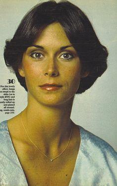 Kate Jackson,70's hair...yep I rocked this do!