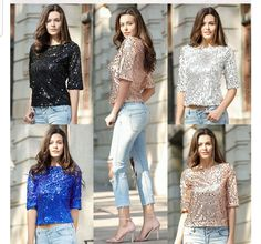 aa5ae00d Specifics Item Type Tops Tops Type Tees Gender Women Pattern Type Solid  Collar O-Neck