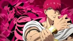 Masrur (magi) red hair anime guy part of the eight generals of sindria. A finalis. Anime One, Anime Guys, Magi Masrur, Red Hair Anime Guy, Otaku, Magi Adventures Of Sinbad, Magi Kingdom Of Magic, Anime Magi, Hisoka