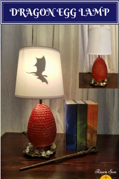 This Artisan Lamp is perfect for a home or office. It will go perfect in as a Harry Potter Lamp or Game of Thrones Dragon Egg. Or use it it go with your fantasy decor or as a seasonal Easter Egg decor.