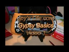She has everything you wanted to know on how to use your gypsy that Provocraft is to cheap to put in their user manual! Great site and very helpful