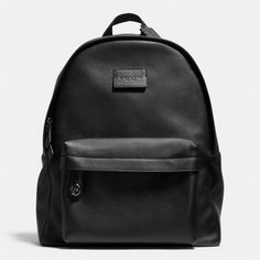 The Campus Backpack In Refined Pebble Leather from Coach