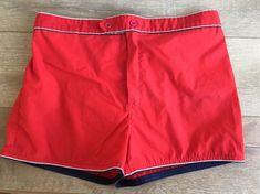 b1b257cf8b22d Sears Vintage Swimsuit Swim Trunks Shorts Kings Road Red Blue White 60's  70's XL #SearRobuckCo