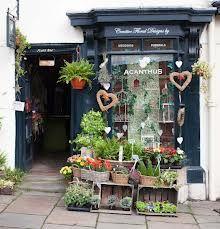 Lovely florist shop front
