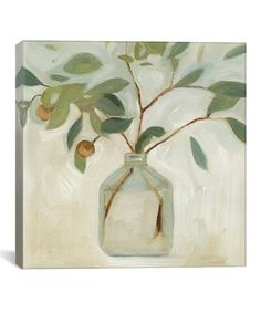 Look what I found on #zulily! Emma Scarvey Neutral Arrangement I Wrapped Canvas #zulilyfinds