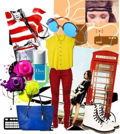 """""""Just gotta love colors!!!"""" by zareh on Polyvore"""