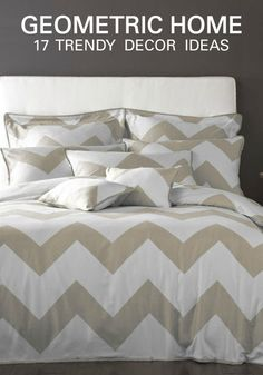 Let your funky personality shine through your home decor! Create a bedroom filled with geometric prints, comfy bedding and bright, graphic wall art with this inspirational guide.