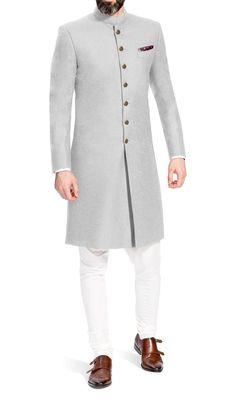 Indian Dress Ethnic Sherwani for Men Wedding Jodhpuri Achkan Bandhgala Traditional Jacket Reception Designer Coat Ethnic Suit Dress - Jodhpuri suits for men - Indian Wedding Clothes For Men, Sherwani For Men Wedding, Wedding Dress Men, Indian Wedding Outfits, Wedding Men, Wedding Outfits For Men, Menswear Wedding, Sherwani Groom, Punjabi Wedding