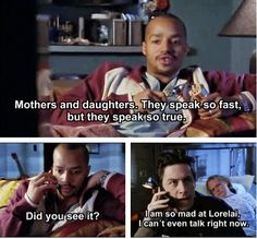 -Scrubs and Gilmore Girls combined! Greatest episode ever! I love both of these