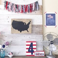 Happy Independence Day, USA  We're so proud to be Americans! ❤️❤️ Display via our pals @peabodyandsassafras