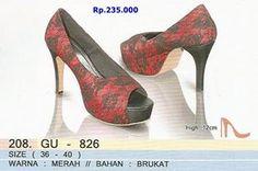 High Heels Brukat Golfer Asli Bandung  Rp.235.000 order PIN BBM 7D541E07 / 52897E75