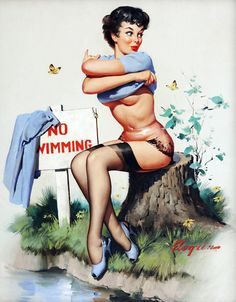 SOURCE GIL- ELVGREN - PINUPS.TUMBLR.COM..............