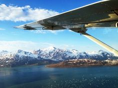 Passeio de Avião pelo Alasca