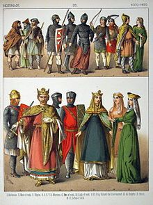 dress in the time of the Normans