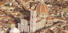 Piazza Duomo aerea Le piu' belle piazze di Firenze - 055Firenze