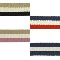 Ces sangles gros grains de 38mm sont idéales pour la création de ceintures, de anses et de tout autre accessoires. Par ici >>> http://www.perlesandco.com/Couture_Tissus_Hand_Made_Collection_Bags_by_Kiyohara-c-2629_1814_3279.html