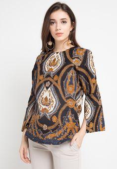Batik Long Dress, Model Dress Batik, Blouse Batik Modern, Batik Muslim, Big Size Fashion, Batik Kebaya, Dress Pesta, Batik Fashion, Indian Fashion