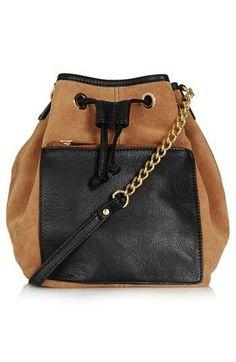Topshop drawstring backpack. Need this!