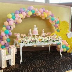 Gorgeous unicorn setup for a special 1 year old over the weekend @innamerkin Styling & setup @stylish_events_decorations Props @stylish.touch Cake stands @prettypedestals Light up letter @limelightletters Unicorns @created_by_naomi Balloons @partysplendour Cake @razzledazzlecakes Towers @strawberriesandco_ Desserts @sweets_withlove Cupcakes & Cakepops @sweetsbypierra Flowers @crazyaboutflowers Photo @symbolique_photography Venue @docksidegroup #birthday #unicon #unicorntheme #uni...