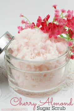 How do you make the women in your life to feel special, appreciated, and loved? Our Cherry Almond sugar scrub will be a welcome treat and such a thoughtful gift as you've invested your time to make something personal for her that she is sure to love! Pair this yummy smelling scrub with a night off and a hot bath drawn … Continue reading →